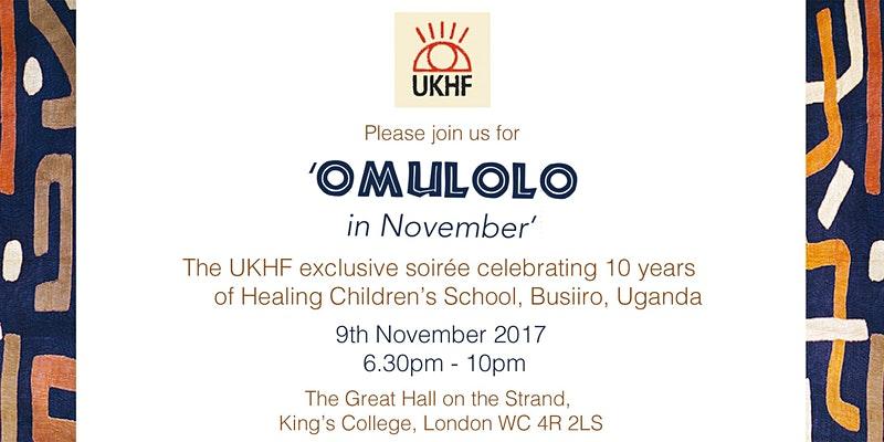 UKHF invites you to Omulolo in November!